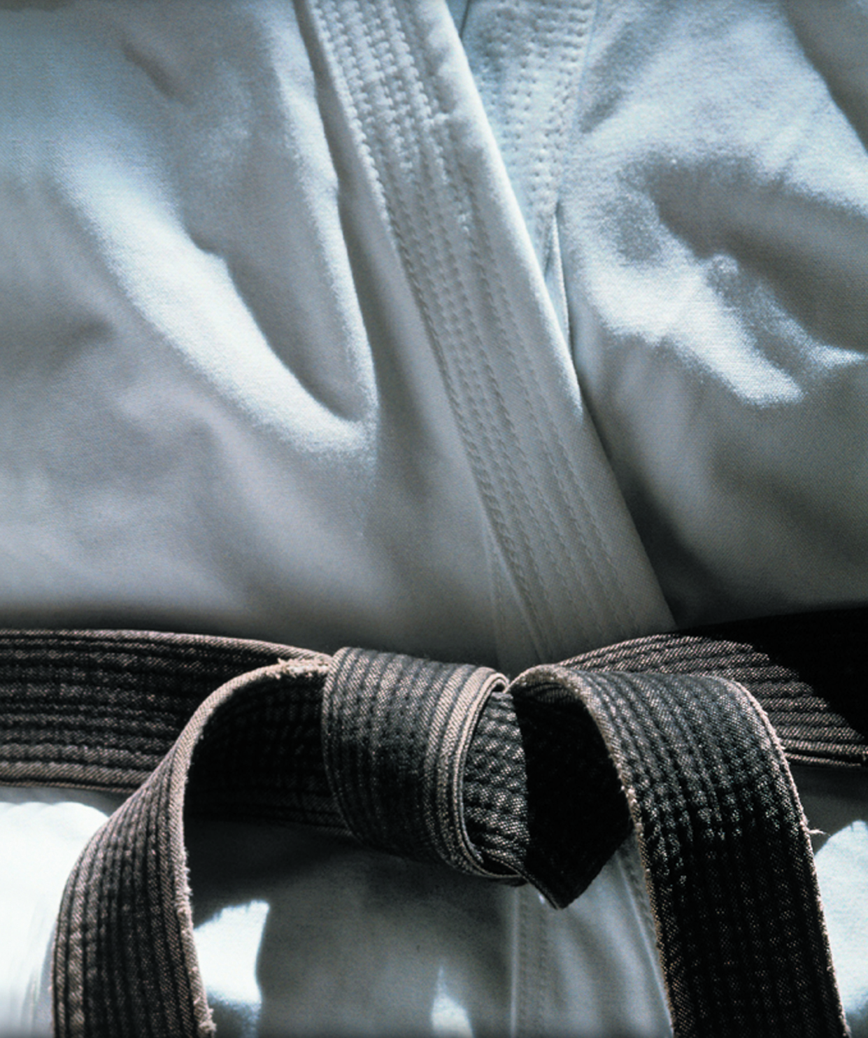 A Black Belt is a White Belt who Never Quit!
