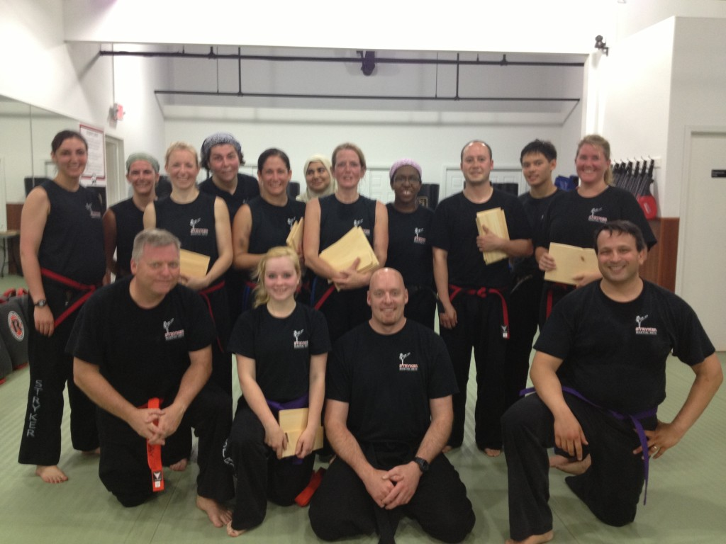 kickboxing group